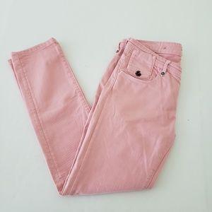 Maison Scotch Pink La Parisienne Skinny Jeans